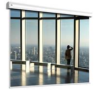 Экран Adeo моторизированный Alumid Vision White 390x244