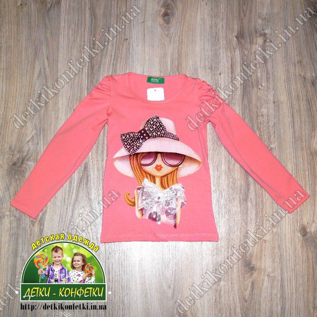 """Кофточка """"шляпка"""" розовая для девочки"""