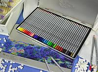 Карандаши цветные Марко (Marco Raffine) 36 цв. в металлическом пенале