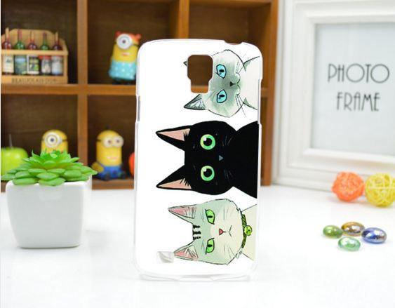 Чехол для Samsung Galaxy Grand Prime G530 панель накладка с рисунком три кота