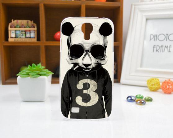 Чехол для Samsung Galaxy Grand Prime G530 панель накладка с рисунком панда