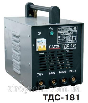 Трансформатор для ручной дуговой сварки ТДС-181- аренда, прокат, фото 2