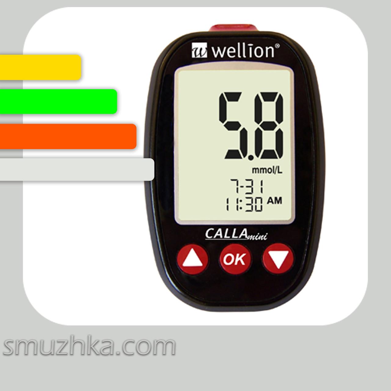 Глюкометр Wellion CALLA Mini+60 тест-полосок