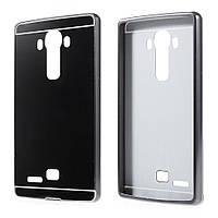 Чехол накладка бампер Mirro-like для LG G4 H815 черный