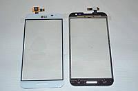 Оригинальный тачскрин сенсор (сенсорное стекло) LG Optimus G Pro E980 E985 E986 E988 F240белый Synaptics+СКОТЧ