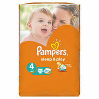 Подгузники  Pampers Sleep&Play Maxi (7-14 кг) СтандУпак 14+Active Baby-Dry Maxi (7-14 кг) 3шт Зразок