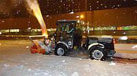 Коммунальная техника Kärcher очищает дороги Киева от снега