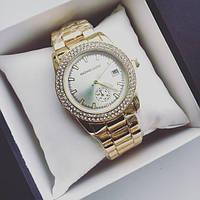 Часы женские Michael Kors Omnia золотые, магазин наручных часов