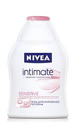Гель NIVEA Sensitive для интимной гигиены 250 мл