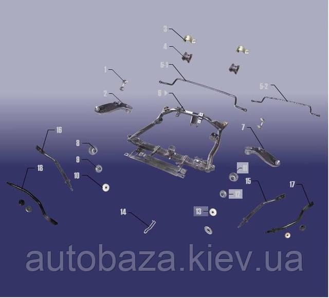 подрамник рычаг стабилизатор втулка джаги