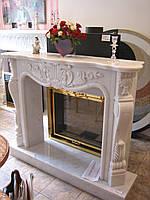 Камин мраморный VERSALLES white