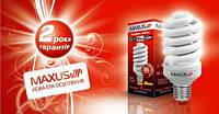 Лампа энергосберегающая Maxus XPiral 20W 4100K E27