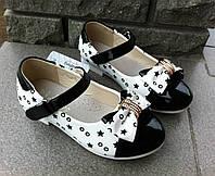 Детские туфли на девочку нарядные легкие  23