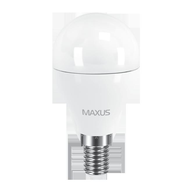 Светодиодная лампа MAXUS 5Вт G45/матовая E14