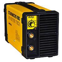 Сварочный аппарат инверторного типа 220В, 5-150А, 3кВт, 75В, 1,6-4,0мм, 3,5кг DECA STARMICRO 180.