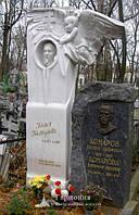 Памятник из мрамора № 217