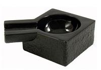 Пепельница для 1 сигары 42100 стекло/черное