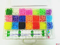 Rainbow loom Набор резинки для плетения 5000 шт. со станком арт. 34741