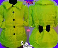 Весення куртка    для девочки  Плащик