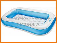 Детский плавательный бассейн intex 166*100*28 см