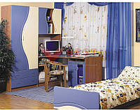 Детская Эколь МДФ (без комода и кровати)