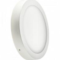 Светодиодный светильник LEDEX круг накладной 6Вт 3000К тепло белый матовое стекло Напряжение AC100-265В