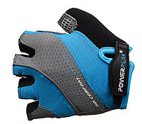 Велоперчатки PowerPlay женские AIR comfort Blue