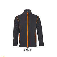 Мужская толстовка-куртка из микрофлиса на молнии NOVA MEN, Sols (Солс), фото 1