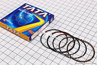 Кольца поршневые 60сс 44мм STD (ТАТА) скутер 50-100 куб.см, фото 1