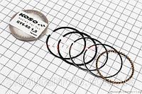 Кольца поршневые 60сс 44мм +1,00 (KOSO) скутер 50-100 куб.см