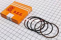 Кольца поршневые 80сс 47мм +0,50 (SEE) скутер 50-100 куб.см, фото 1