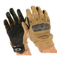 Тактические перчатки Oakley (реплика), цвет тан