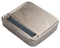 Машинка для самокруток 01250 (20050) в метал. табакерке, 70 мм