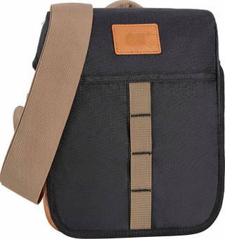 Стильная молодежная повседневная сумка для планшета CAT Urban Active Limited Edition 83204;01 черный
