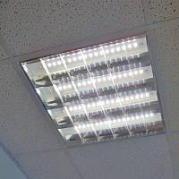 Растровый встраиваемый светодиодный светильник