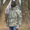 Куртка камуфлированная. Ткань hardshell (ветровлагозащитная)