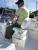 Одноместное кресло-рундук с системой Flipp-Up