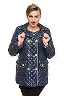 Женская стеганная куртка батал от производителя.