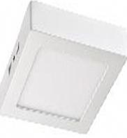 Светодиодный светильник LEDEX квадрат накладной 18Вт 6500К алюминий
