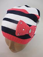 Детские трикотажные шапки на весну.