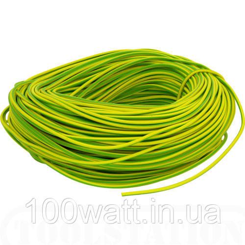 Провод ПВ-3 1,5 желто-зеленый