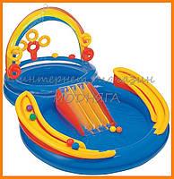 Бассейн-горка детский | надувные горки