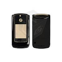 Корпус для Motorola V8, оригинальный (черный)