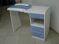 Стол маникюрный С-3, Маникюрный стол с валиком