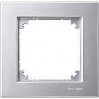 Рамка 1-пост Merten M-Plan алюминий