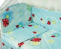 Ограждение защитное в детскую кровать . Дизайн разнообразный.