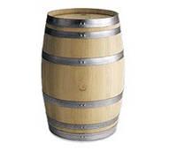 """Профессиональная винная бочка """"Whitе"""", классический """"баррик""""225 л, американский дуб, производство США"""