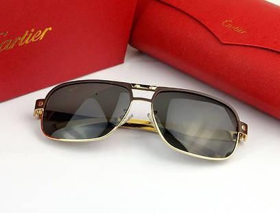 Солнцезащитные очки Cartier (0689) gold SR-083
