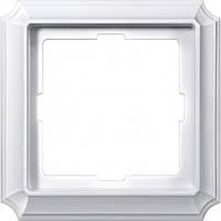 Рамка 1-пост Merten Antique полярно-белый