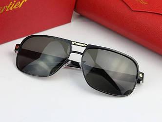 Солнцезащитные очки Cartier (0689) black SR-084
